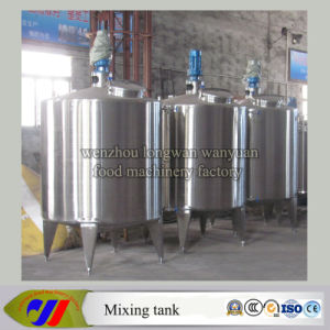Steam Heating Closed Mixing Tank with Manhole pictures & photos