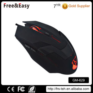 Ergonomic Design Best Comfortable 6 Buttons Optical Gamer Mouse pictures & photos