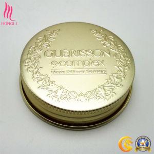 Elegant Decorative Hot Stamping Golden Screw Cap pictures & photos
