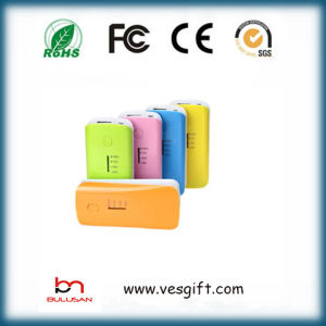 ABS Lipstick Portable 2200mAh Power Bank Emergency Charger pictures & photos