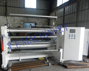 PLC Control 300m/Min Jumbo Roll Slitting Machine for Paper pictures & photos