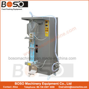 Liquid Sachet Packing Machine for Pure Water Milk Juice