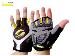 Racing off-Road Gloves Riding Half-Finger Gloves pictures & photos