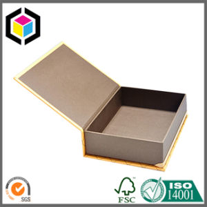 Matte Color Print Book Shape Cardboard Paper Gift Box with Magnet pictures & photos