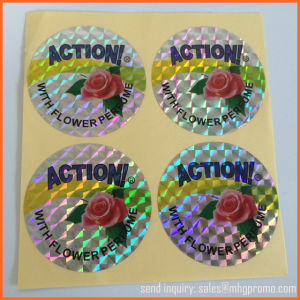 Custom Laser Hologram Sticker pictures & photos