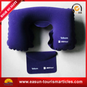 High Quality Portable Waterproof Inflatable Neck Pillow (ES3051789AMA) pictures & photos