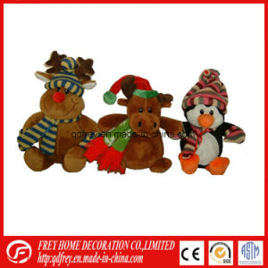 Hot Sale Christmas Gift Toy of Keychain Snowman Bear pictures & photos