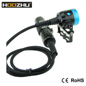 Hoozhu Hv33 Canister Diving Video Light Max 4000 Lm Waterproof 120 for Underwater Video pictures & photos
