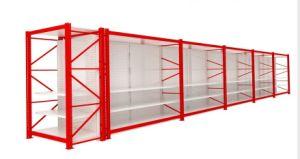 Cash Carry Supermarket Storage Gondola Shelving Rack pictures & photos