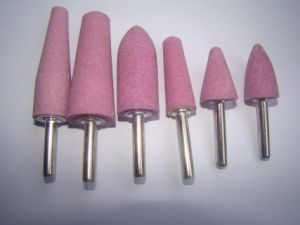"""Abrasive Mounted Point 3/4"""" X 2-1/2"""" X 1/4"""" Shank A1 Shape pictures & photos"""