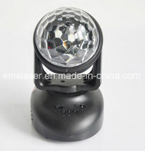 New Mini RGB Moving Head Beam Light LED Magic Ball Light DJ Light pictures & photos