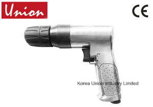 "Air Powered Drill Pistol Grip 3/8"" Keyless Chuck Drill Driver pictures & photos"