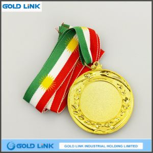 Wholesale Custom Gold Blank Medal Award Medallion Promotion Gift pictures & photos