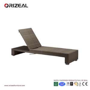 Outdoor Adjustable Rattan Beach Lounger Oz-Or059 pictures & photos