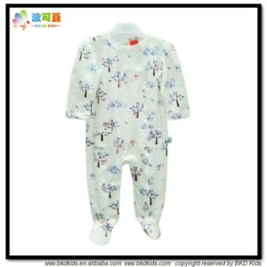 Custom Printing Baby Garment Footed Toddlers Romper pictures & photos