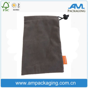 Colored Non Wovens Bespoke Cheap Velvet Soft Touch Phone Packaging Pouch pictures & photos