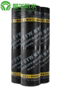 3mm APP Waterproof Membrane PE Film Surface Glass Fiber Reinforced