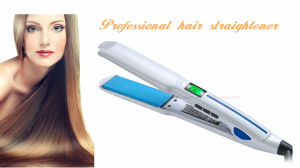 Professional Waterproof Hair Straightener with Floating Tourmaline Coating Plates pictures & photos
