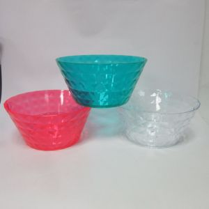 PS Salad Bowl Plastic Big Bowl Tableware Colored pictures & photos