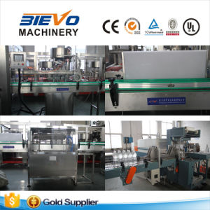 Full Automatic Plastic Bottle Drinking Mineral Water Filling Production Line pictures & photos