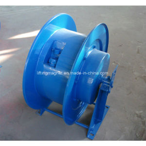 Spring Loaded Cable Reel Drum for Lifting Magnet pictures & photos