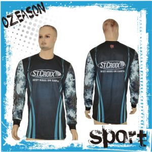 Popular Dyed Sublimation Polyester Fishing Jersey for Men (F023) pictures & photos