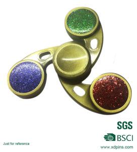 Best Seller Bronze 3D Three Leaf Finger Spinner Last 3 Minutes pictures & photos