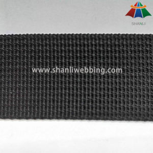 1 Inch Black Grooved Nylon Webbing Have in Stock pictures & photos