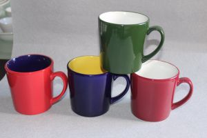 The Colors Glazed Ceramic Tea Cup pictures & photos