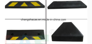 Rubber Wheel Stopper with Bolt pictures & photos