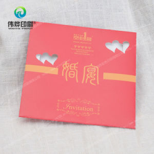 Paper Printing Square Envelope for Wedding Invitation Card pictures & photos