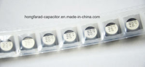 V-Chip 330UF 35V Aluminum Electrolytic Capacitor with 2000hours 105º C pictures & photos