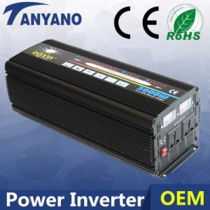Tanyano DC12V to AC220V 3000W Electeronic Inverter with UPS&Charger pictures & photos