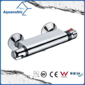 Bathroom Brass Chromed Anti-Scald Thermostatic Shower Faucet (AF4230-7) pictures & photos
