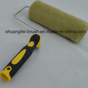 "Best Quality 9"" *5 Wire 100% Acrylic Green Thread Paint Roller with Soft Roller Handle pictures & photos"