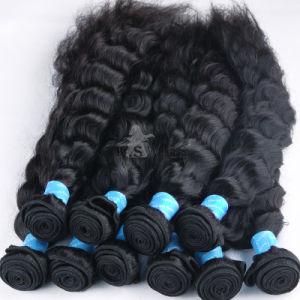 Unprocessed Virgin Hair Extension Peruvian Human Hair Weaving pictures & photos