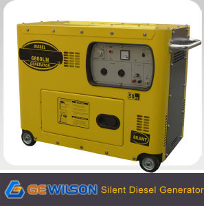 Hot Sale Gewilson Soundproof Diesel Generator with CE pictures & photos