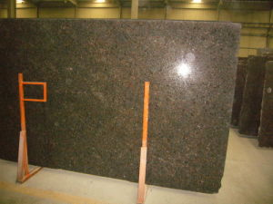 Polished Slab Tan Brown Granite for Worktops pictures & photos