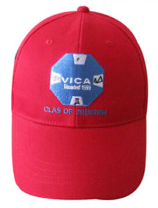 Custom Ball Cap Style Basic Embroidered Red Cap pictures & photos