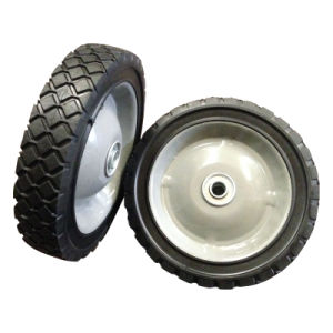 """10 Inch 10""""X1.75"""" Semi-Pneumatic Solid Rubber Wheel pictures & photos"""