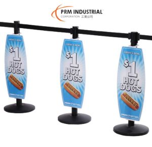 Changed Frequently Stanchion Signs with Low Price pictures & photos
