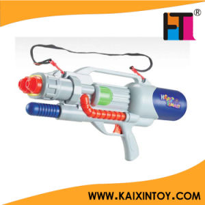 Double Nozzle Air Pressure Big Water Gun Toys with Belt pictures & photos