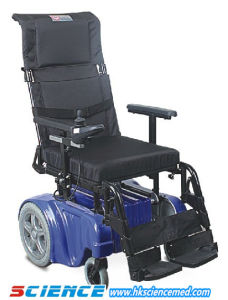 Height Adjustable Luxurious Steel Power Wheelchair (SC-EW10) pictures & photos