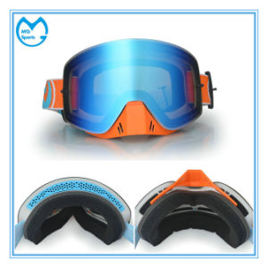 UV 400 Customized Ski Mask Snow Glasses with Nose Guard pictures & photos