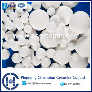 Activated Alumina Ceramic Ball Filters White Activated High Alumina Ball for Drying pictures & photos
