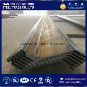 Factory Supply Steel Sheet Piling for Workshop & Bridge-Z Shape pictures & photos