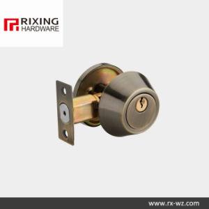 Iron Combo Glass Door Deadbolt Lock (RX-D101AB) pictures & photos