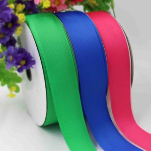 Polyester Satin Grosgrain Organza Ribbon for Garments, Gifts, Bags Byr100001 pictures & photos