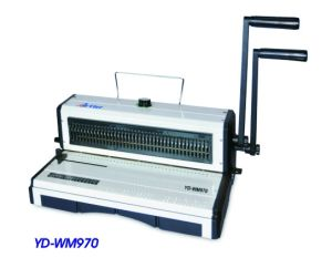 Double Wire Binding Machine (YD-WM970) pictures & photos