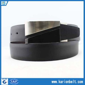 Formal Double Sided Belt with Timeless Plaque Buckle (35-13105)